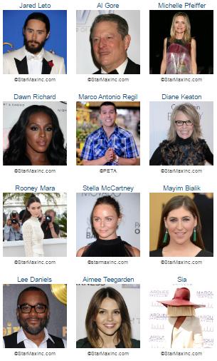 Hottest Celebrity vegans 3
